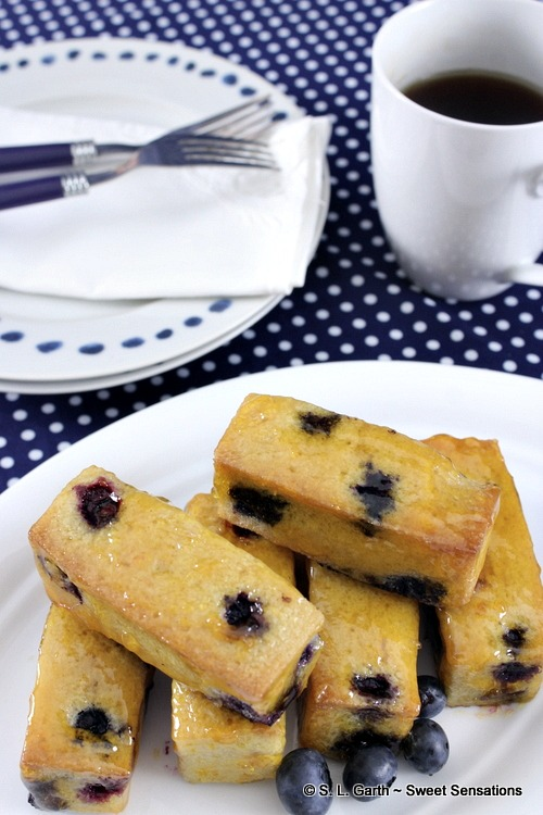 Blueberry Financiers are a perfect little-sophisticated treat to have with a hot beverage.