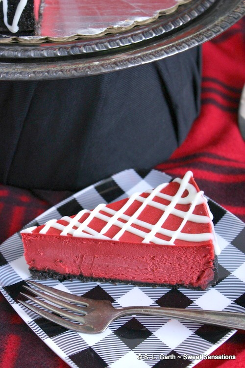 A Red Velvet Cheesecake Kit is a simple to indulge in a truly decadent dessert without having to measure all the ingredients.