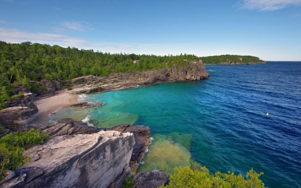 Ontario Canada Bruce Peninsula National Park