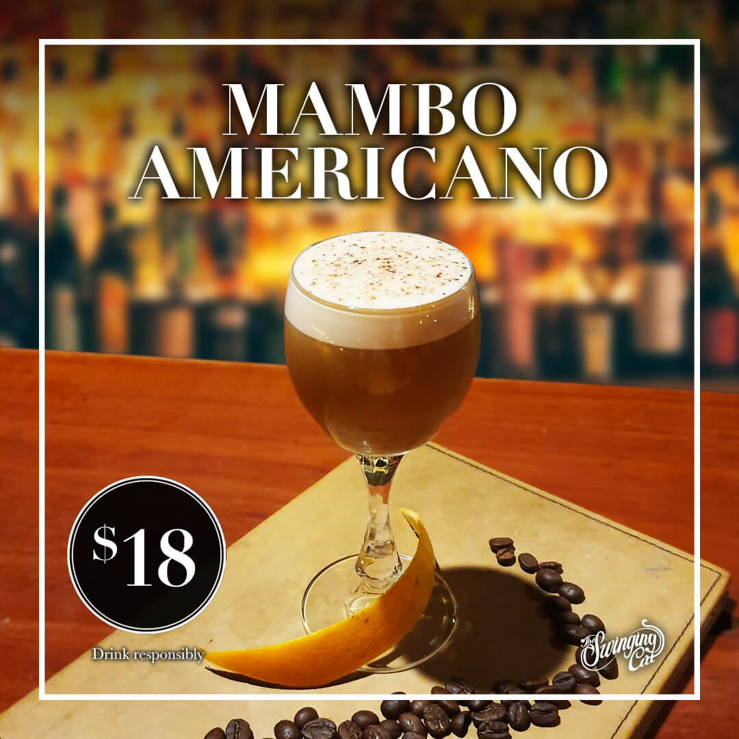 Cocktail of the Month July Mambo Americano