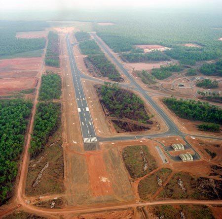 RAAF Scherger aerial photo