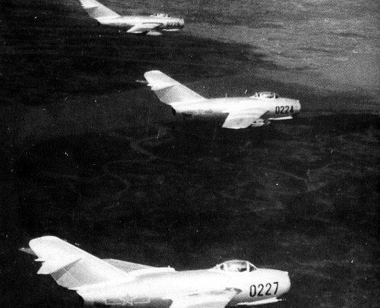 Korean War MiGs
