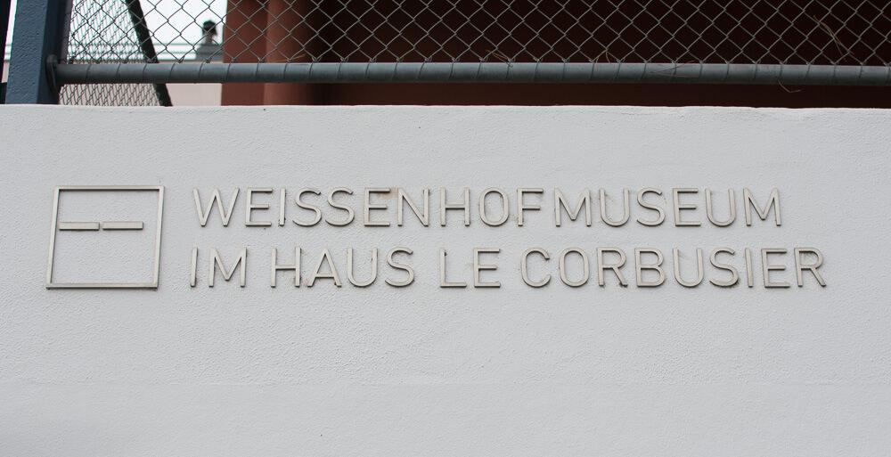 Weissenhof Museum im Haus Le Corbusier