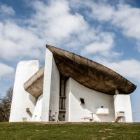 Masterpiece by Le Corbusier : Ronchamp, France
