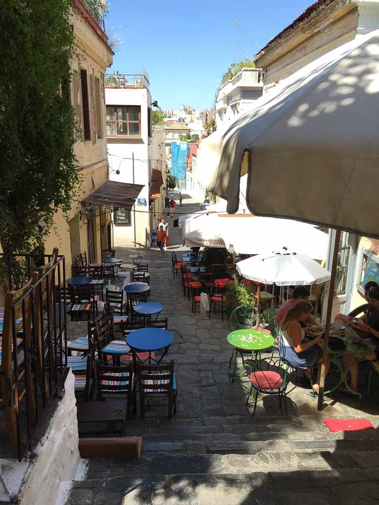 Cafes in Plaka