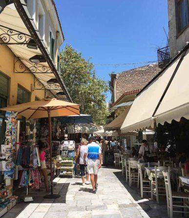 souvenir shops in plaka greece