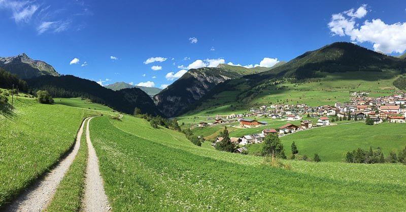 Path in Tyrol Austria
