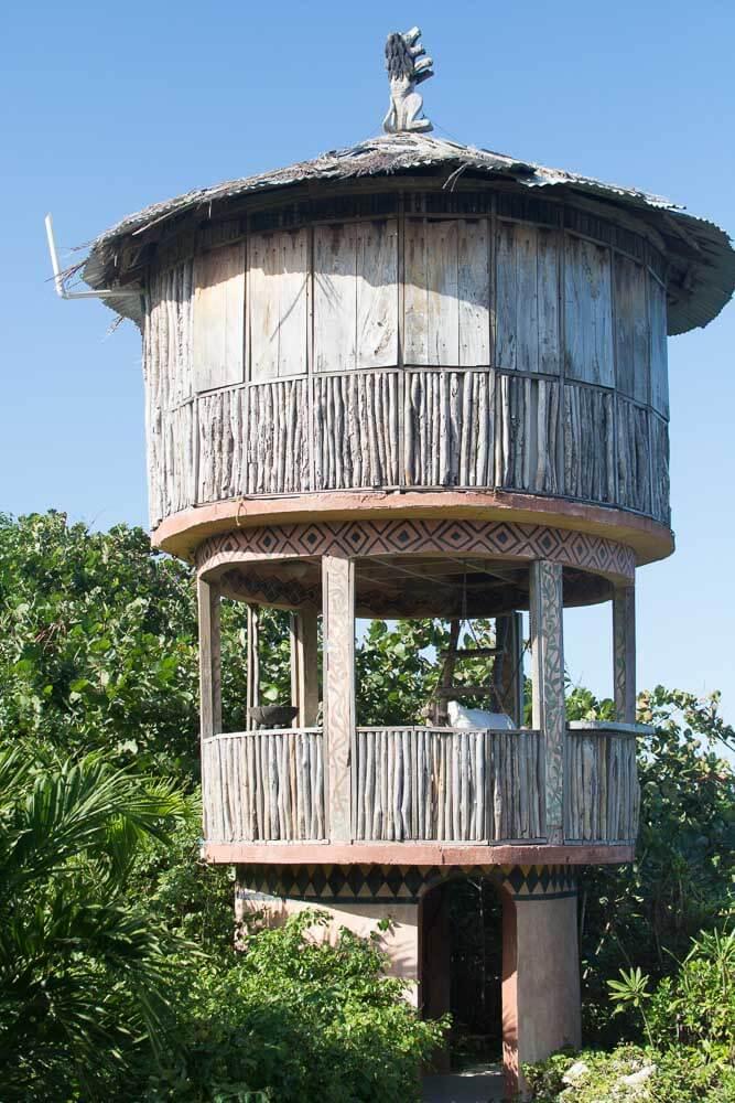 African Sunrise Hut