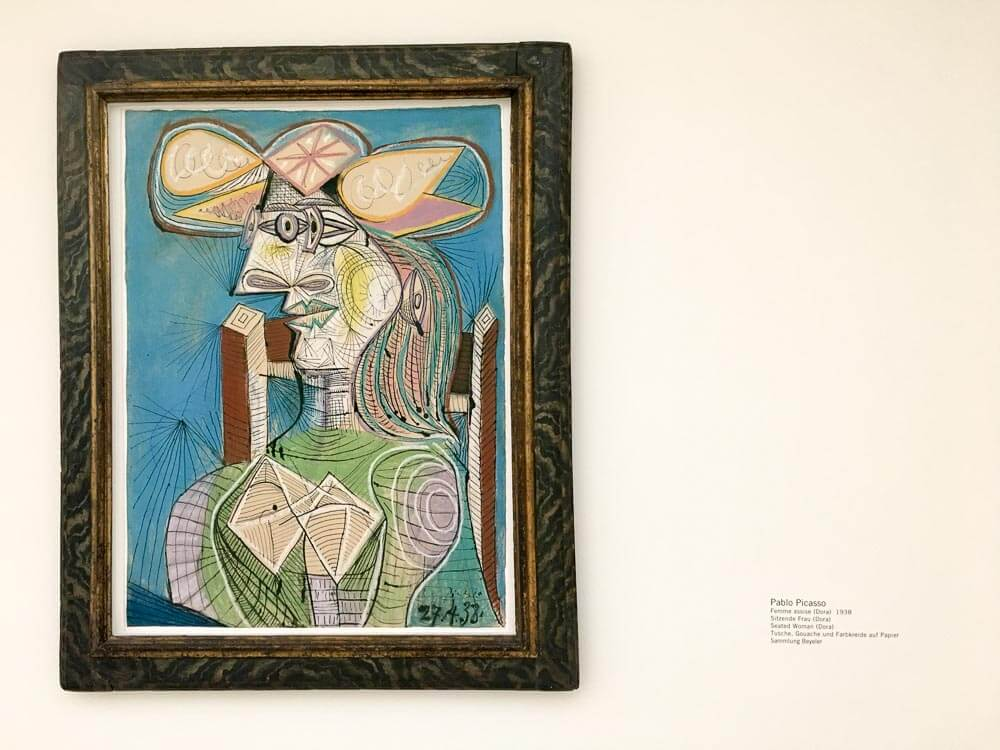 Pablo Picasso's The Seated Woman, 1938