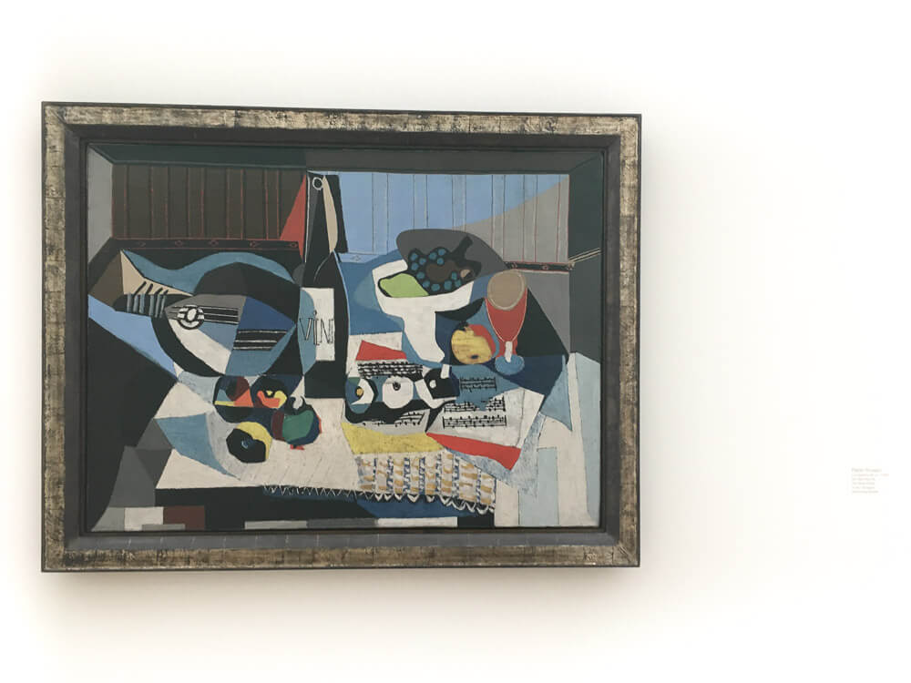 Pablo Picasso's, The wine Bottle, 1926