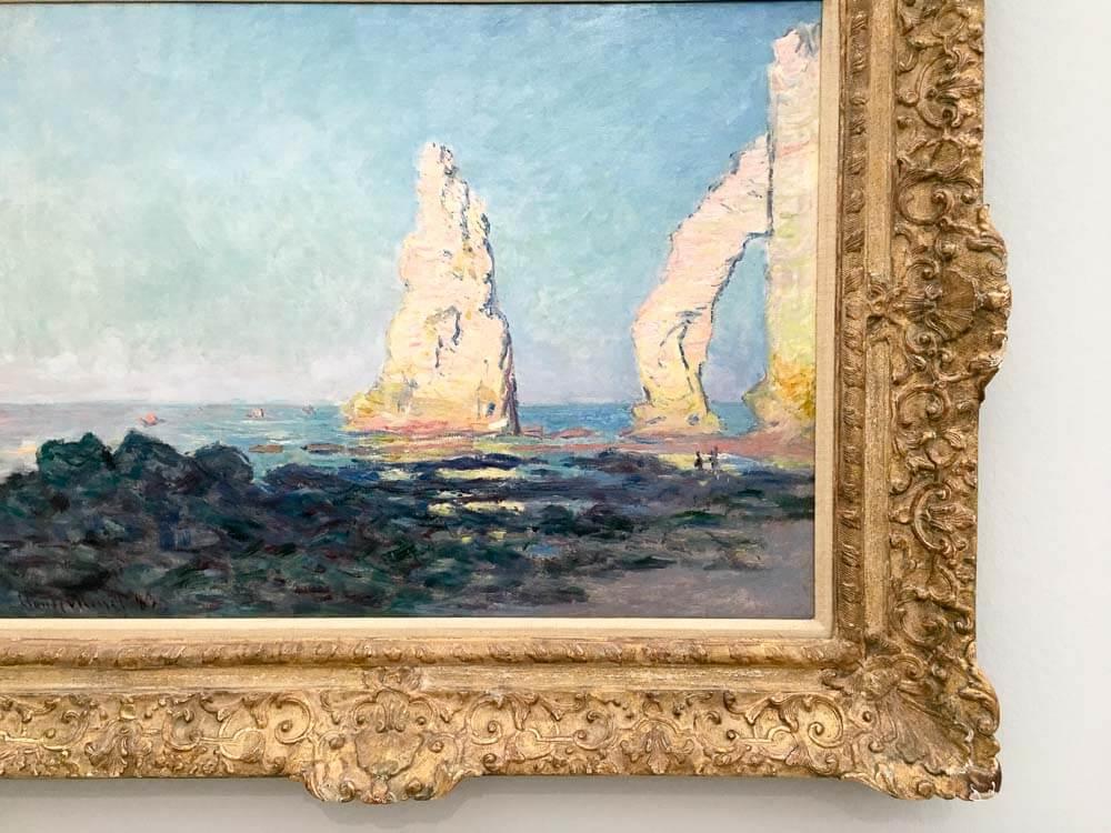 The Needle Rock at Low Tide 2, Étretat, 1883