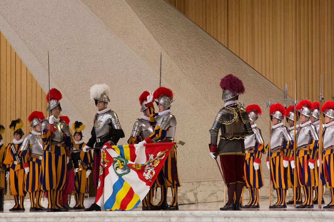 Men in the Pontifical Swiss Guard