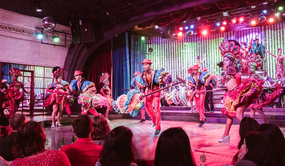 Cabaret at the Parisien in Havana Cuba