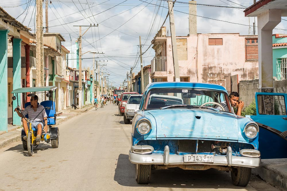 Street scene in Morón Cuba