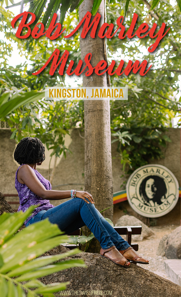The Bob Marley Museum in Kingston Jamaica is a MUST-SEE for all reggae music lovers. You'll get to know up-close and personal with the famous Jamaican reggae singer & learn much more about him than you ever did before! via www.theswissfreis.com #kingston #Jamaica #Caribbean #BobMarley #Marley #Reggae #ReggaeMusic