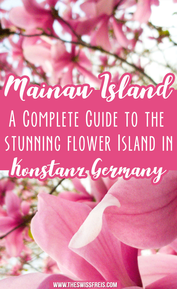 Flower Island of Mainau in Konstanz Germany #travelguide #germany