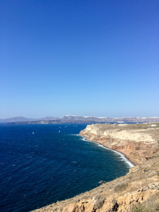 View from Akrotiri Lighthouse