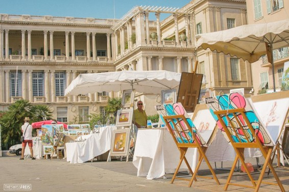 Art Market in Nice