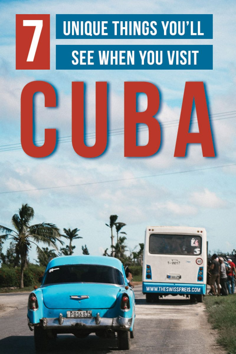 Unique Things to See in Cuba #Caribbean #cubatravel