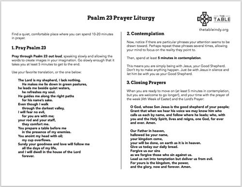 psalm23prayer