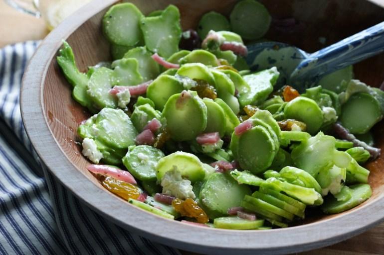 broccoli stem salad | www.thetableofcontents.co