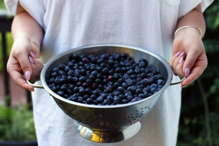 Blueberries | www.thetableofcontents.co
