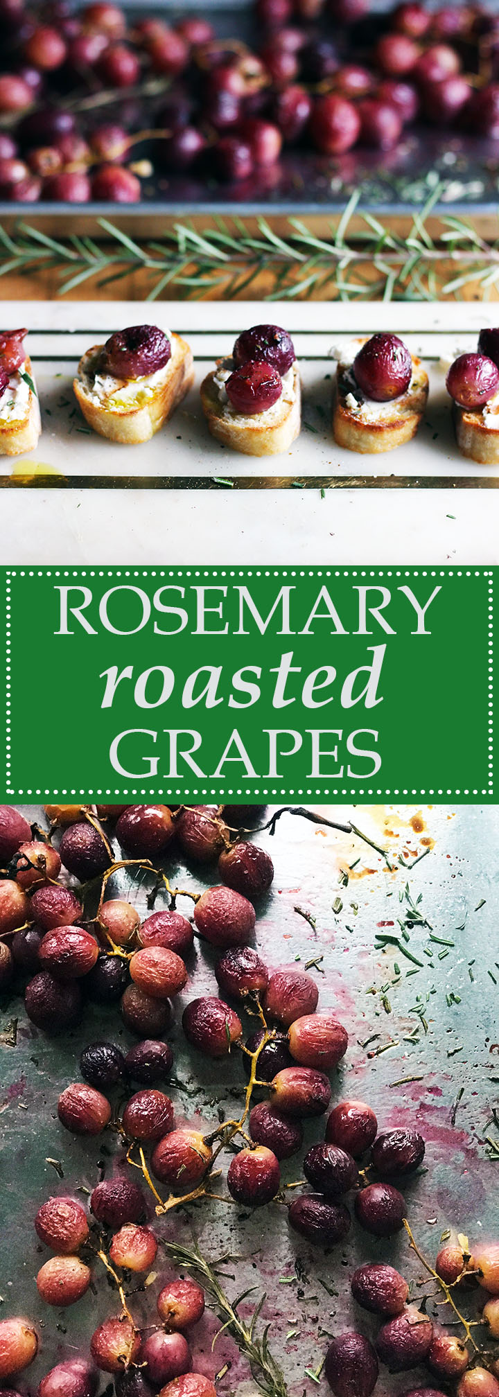Rosemary Roasted Grapes   thetableofcontents.co