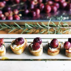 Rosemary Roasted Grapes | thetableofcontents.co