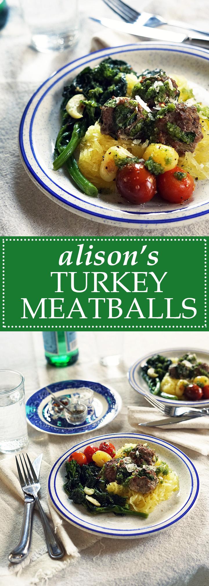 Alison's Turkey Meatballs | www.thetableofcontents.co