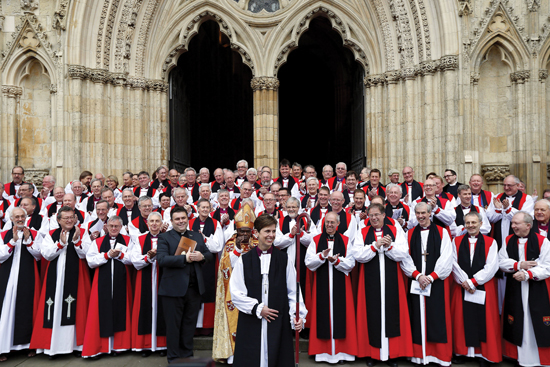 Libby Lane's episcopal ordination
