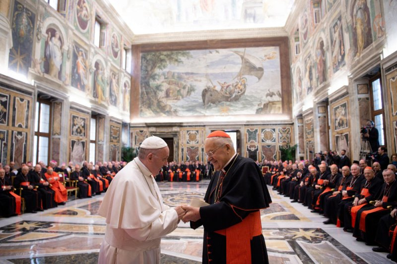 Pope proposes radical shakeup of the Roman Curia