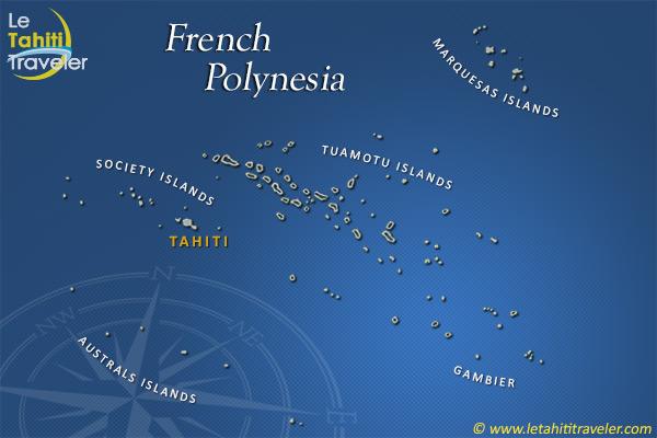 French Polynesia French Polynesia Map Hendria Qinara - French polynesia map