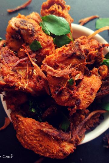 Coriander Fried Chicken