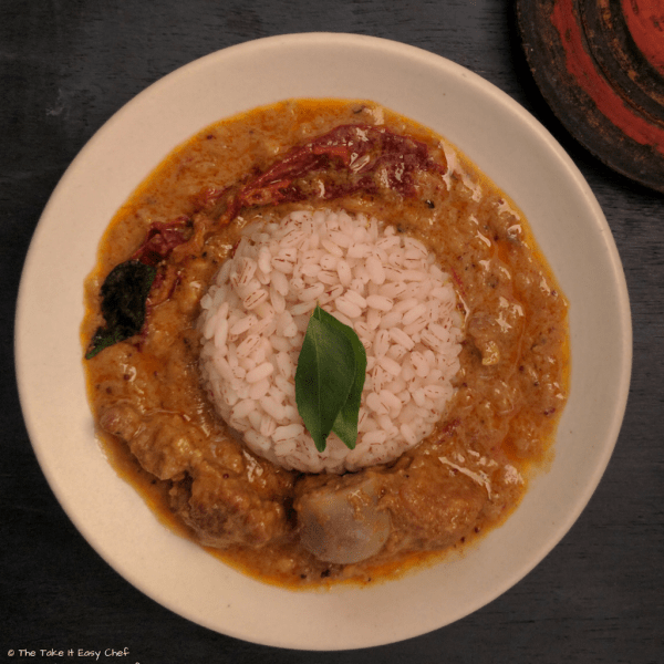 Kerala Style Mutton Curry (Mutton/Lamb/Goat Curry)