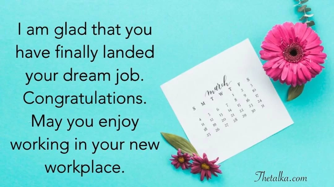 Best Congratulation Messages For New Job Thetalka