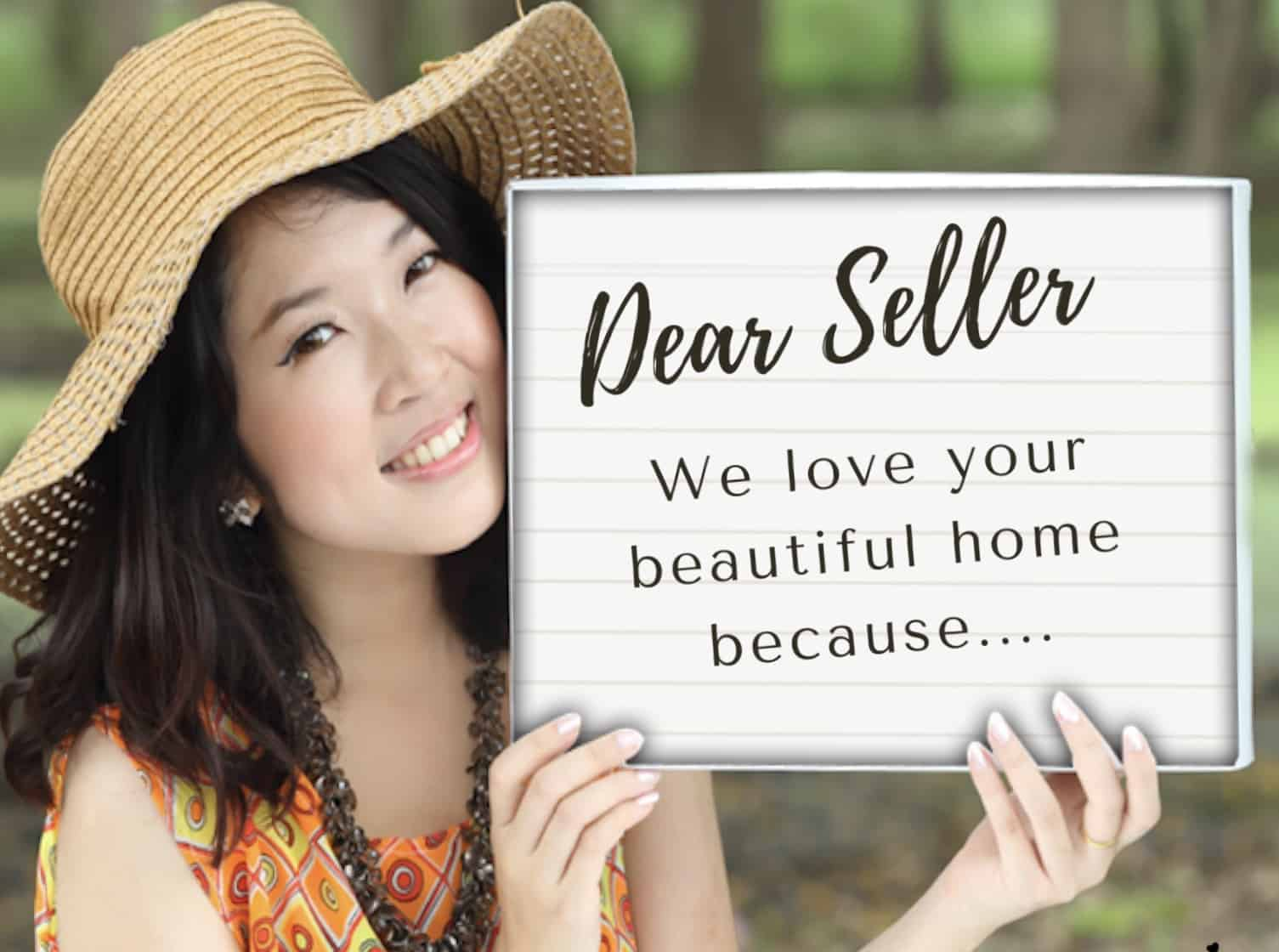 In most cases, people who want to buy a house, make an offer through a real estate agent.the agent also wants to make the sale, so he or she will do their best to bring the offer to a sale. The Worst Mistake You Can Make When Writing A Buyer S Letter The Tampa Real Estate Insider
