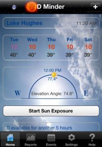 D-Minder app for iPhone and iPad helps you make vitamin D