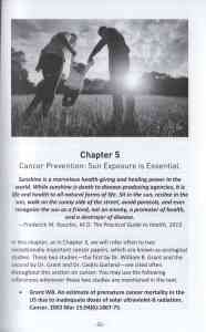 Embrace The Sun: CHAPTER 5: Cancer Prevention: Sun Exposure is essential.