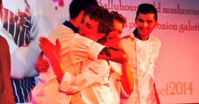 Winner of the Young Chef of the Year 2014 went to Matthew Logan