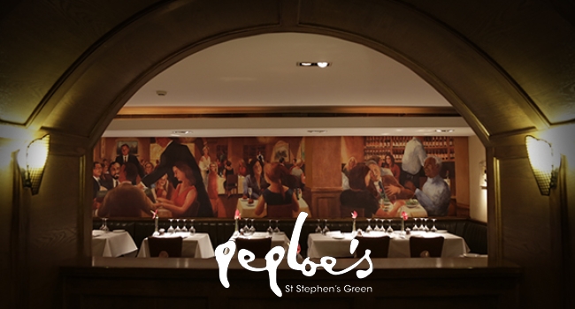 Peploe's A Dublin Stalwart of Chic Innovative Cuisine