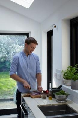 Jordan Bourke Cooking