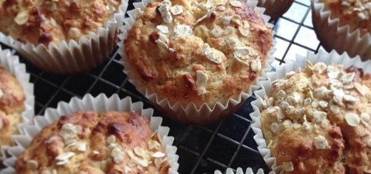 Niamh Mannion Oat & Apple Muffins