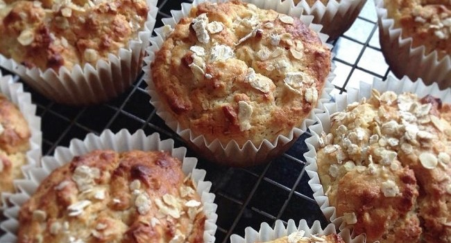 Niamh Mannion Oat & Apple Muffins
