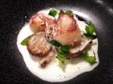 Scallops, Artichokes, Mussels