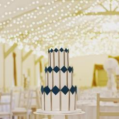 The Wedding Cake Boutique Geometric Wedding Cake
