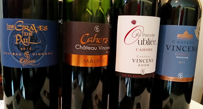 Château Vincens Cahors Malbec – for Malbec Day