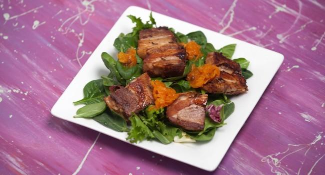 Crispy Pork Belly Recipe by Chef Louise Clarke