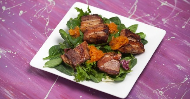 Crispy Pork Belly Recipe by Chef Louise Clarke