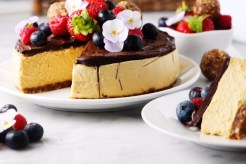 Salted Caramel Cheesecake Recipe The Goodfood Goddess