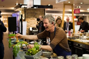 Kevin Thornton at Bauknecht Cooking Demonstration in Arnotts